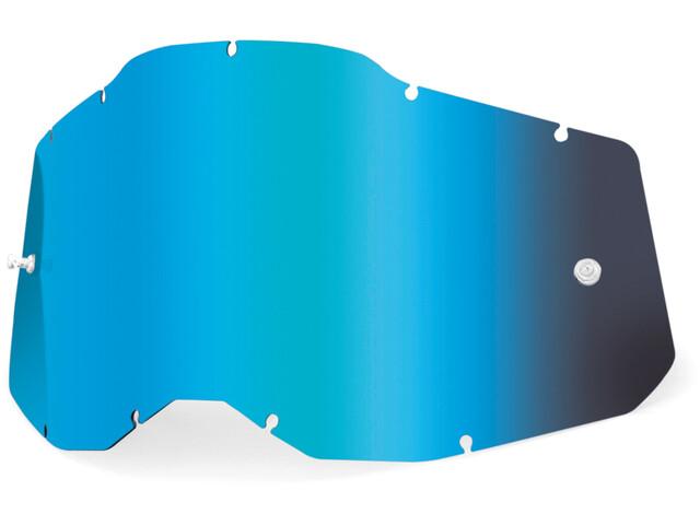 100% Anti-Fog Replacement Lenses Gen2, blue/mirror